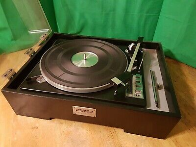 ELAC Miracord 50H Turntable - WORKING / COMPLETE