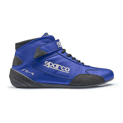 Neu Sparco Fahrerschuh CROSS RB-7 blau (Homologation FIA) (38 (5 UK) (5,5 US))