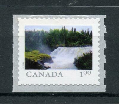 2018 CANADA 🍁 Far and Wide Series 🍁 PISEW FALLS; single; MNH - From Coil Strip