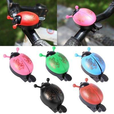 Bike Beetle Ladybug Shell Ring Bell Creative,For Kids Cycling Bicycle Horn Alarm