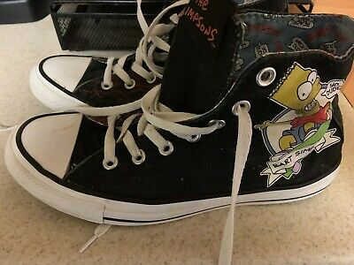 4112d7ef441efe Converse Chuck Taylor ALL STAR Sneakers The Simpsons Bart Skate men 6 woman  8