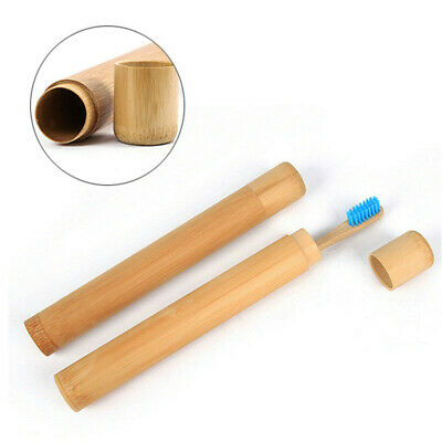 Portable Travel Hiking Camping Toothbrush Protect Holder Case Box Tube Cover New