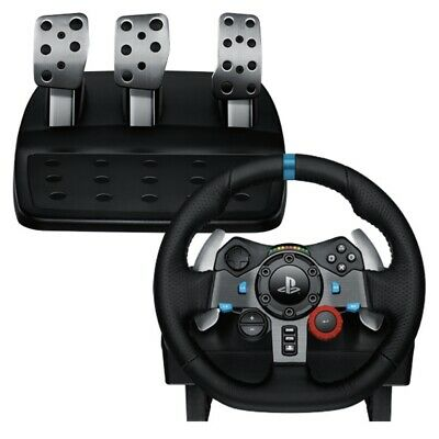 Logitech G29 Driving Force Racing Wheel & Pedals FOR PS4, PS3 & PC