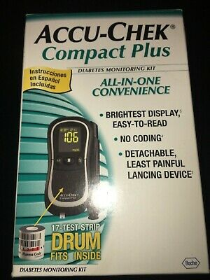 Pair of *TWO* Accu-Chek Compact Plus Glucose Monitoring System