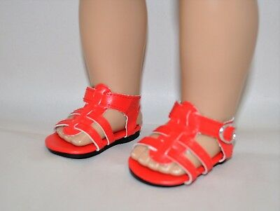 Our Generation American Girl Doll 18 Inch Dolls Clothes Shoes Red Sandals