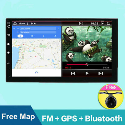 2 din car stereo radio video player for Universal Android 8.1 with Wifi Camera