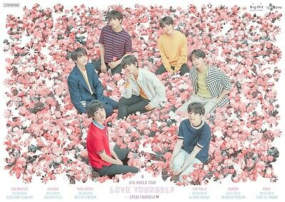 BTS Speak Yourself Concert Ticket @ Rose Bowl Day 2, Section 8-L, Row 24