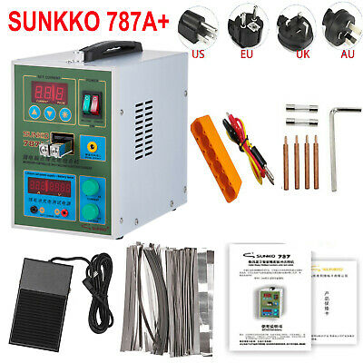 SUNKKO787A+ 220V EU Spot Welding Machine For 18650 Battery Welder Microcomputer