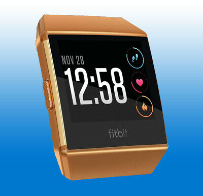 BRAND NEW FITBIT Ionic Pebble Only - BURNT ORANGE Tracker Large Small - all  SIZE