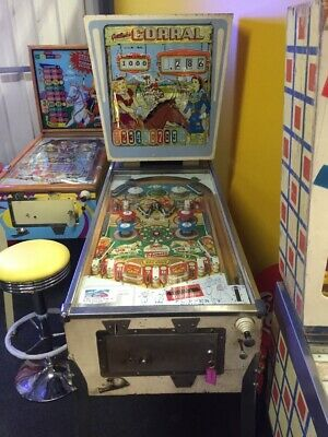 Corral Pinball By Gottlieb - Great Condition - 1961 - Pinball - Working
