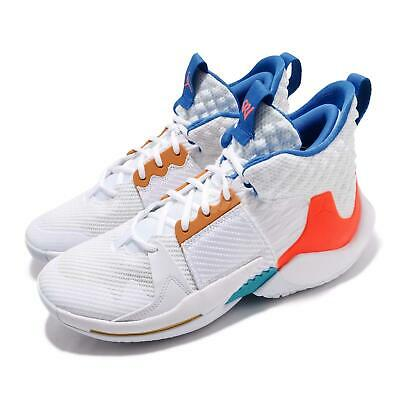 cf0a9146f28 Nike Jordan Why Not Zer0.2 PF White OKC Russell Westbrook Mens Shoes BV6352-
