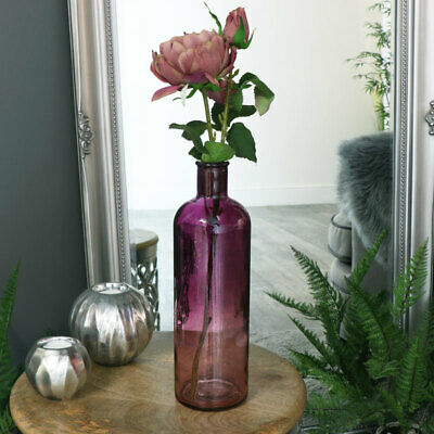 Lila Ombre Glasflasche Apotheker Vase Display