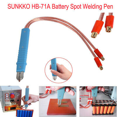 UNKKO HB-71A Blue Spot Welding Pen 1860 Battery O Type For 709A 709AD Series