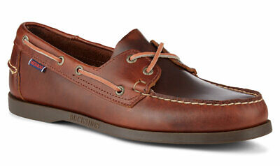 50b55f9939408 Sebago Docksides Moccasin Men's Deck Shoes 70000G0/925 Brown Oiled Waxy NEW