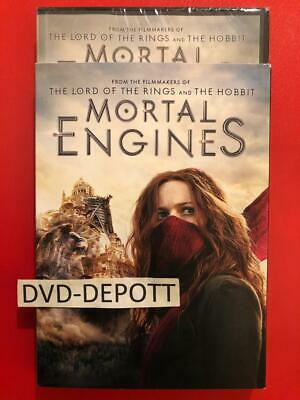 Mortal Engines DVD W/Slipcover AUTHENTIC DVD Brand New FAST Free Shipping