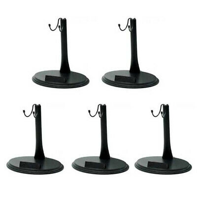 """New 5/10pcs Black Doll Stand For 1/6  Dollhouse Display 12"""" Dolls Action Figures"""