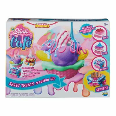 Orb Slimi Café ~ Soft N Slo Squishies ~ All In One Sweet Treats Creation Kit