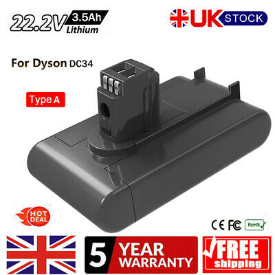 3000mAh For Dyson DC31 DC34 DC35 DC44 DC45 Animal Type A Replacement Battery UK
