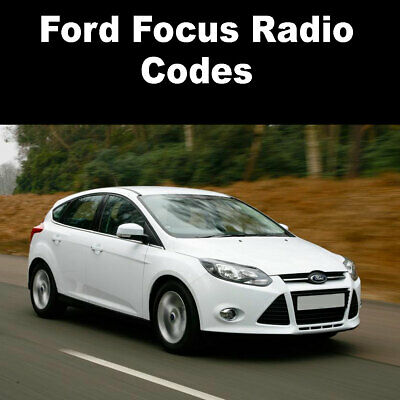 Ford Focus Radio Code