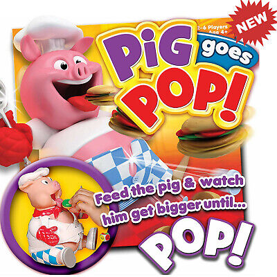 Pig Goes Pop Game from Ideal Kids Game Fun Game for Girls Boys Children NEW Game
