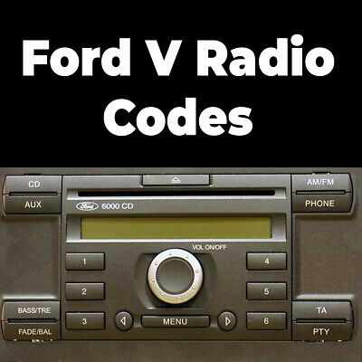 Ford V Series Radio Codes