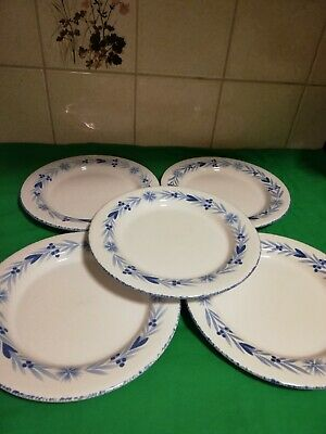 Mark And Spencer St Michael Provence side plates X 5 (22 cm)