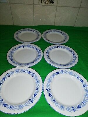 Mark And Spencer St Michael, Provence Tea plates X 6