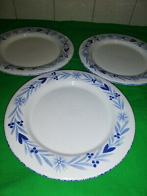 Mark And Spencer St Michael, Provence dinner plates X 3