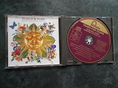 Tears For Fears Tears Roll Down Greatest Hits 12 Track Cd Album Exc