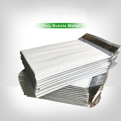 Poly Bubble Padded Mailers Shipping Envelopes Plastic Packaging Pack US SELLER