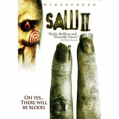 Saw II (DVD, 2006, Widescreen Edition) Disc Only  37-11