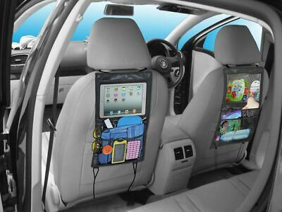 Car Back Seat Storage Organiser Tidy with iPad Tablet Holder