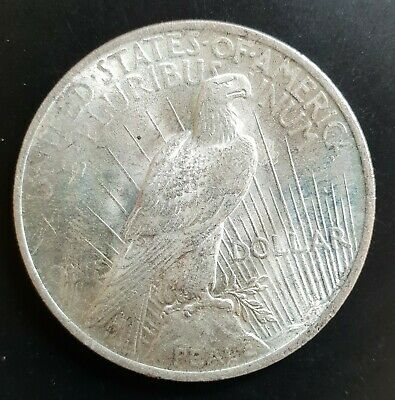 1923 P US Silver Peace Dollar $1 aUNC+++.....