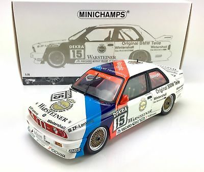 BMW M3 E30 Minichamps 183892095 DTM Ravaglia Champion 1989 Ltd.1000pcs. 1:18 NEW