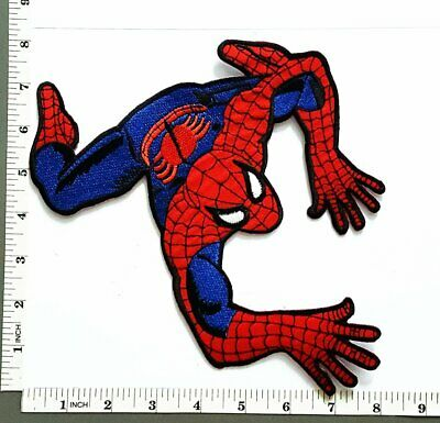 Big Huge Jumbo Spiderman Web Superhero Sew Iron On Embroidery Applique Patch