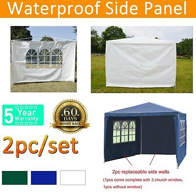 Replacement Gazebo Side Panels Made From High Quality Water Repellent Fabric PE