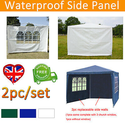 3m Canopy Gazebo Marquee Replacement Exchangeable Side Panel Wall Panels