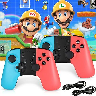 Wireless Bluetooth Joycon Pro Remote Controller Gamepad for Nintendo Switch PC