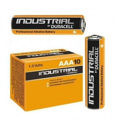 50 Batterie Duracell Industrial Procell Pile Alcaline MINI STILO AAA LR03