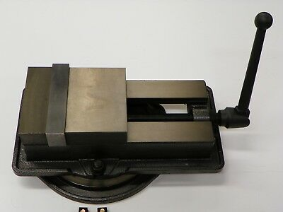 "6/"" ANG-DOWN-LOCK  MILLING MACHINE VISE X-large opening 8.5/"" swivel base 850-600L"