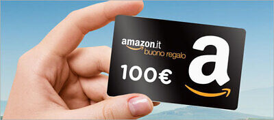 100€ Amazon.it a soli 95€ Buono Regalo Carta Prepagata Gift Card Codice digitale