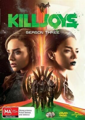 Killjoys : Season 3 : NEW DVD