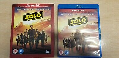 Solo: A Star Wars Story 3D  [Blu-ray]