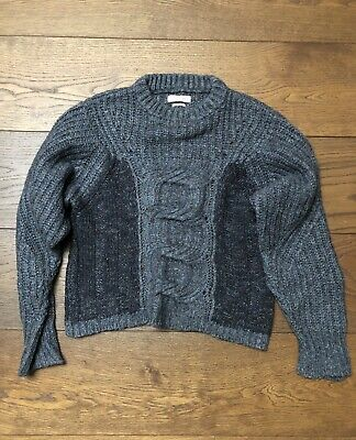 6939bcd1165  300 ISABEL MARANT Etoile Cassy Striped Mohair-Blend Sweater