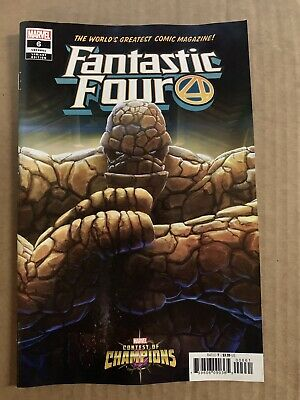 Fantastic Four #6 Contest Of Champions Variant 1St Print Marvel Comics (2019)