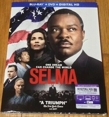 Selma (Blu-ray/DVD, 2015, 2-Disc Set) Brand New & Sealed