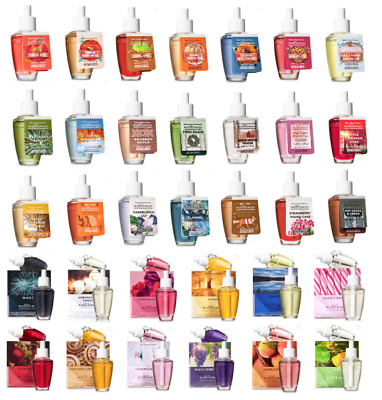 WALLFLOWERS BATH and BODY WORKS REFILL 2-PACK or SINGLE BIG SELECTION PICK SCENT