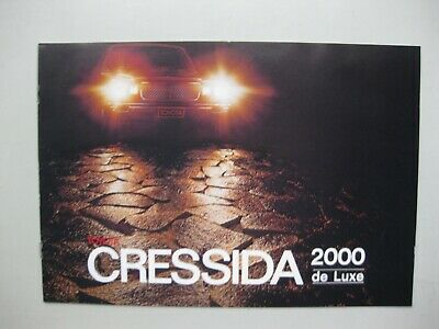 Toyota Cressida 2000 brochure Prospekt German text Deutsch 8 pages 1979 Austria