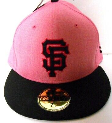 d1db7fdf41b34 NEW ERA 59Fifty MLB San Francisco Giants Mother s Day PINK Hat Cap Size 7  ...