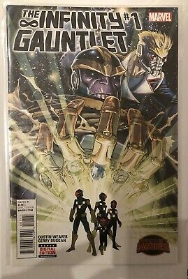 The Infinity Gauntlet #1 - Thanos Marvel Usa - Nm